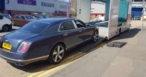 BSM Car Transport London Gallery - Bentley