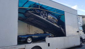 BSM Covered Enclosed Car Transport London England Luxury