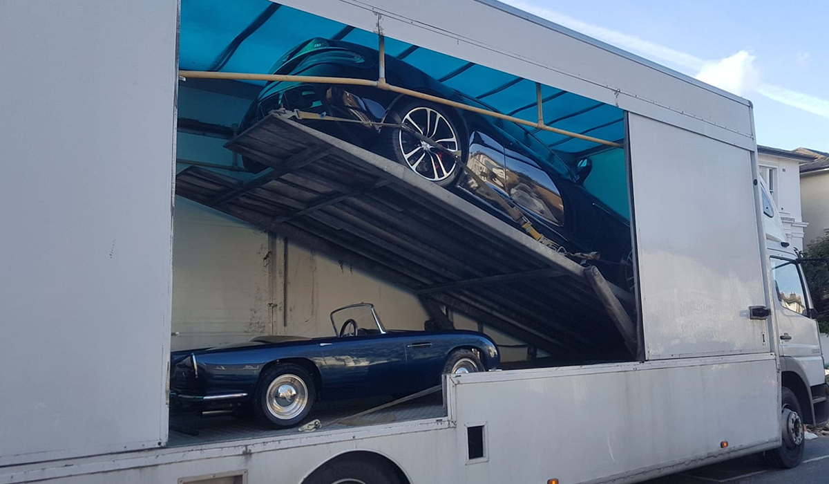 Covered Car Transport Enclosed Car Transport Bsm Car Transport