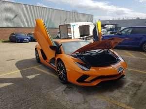 BSM Car Transport London Gallery - Lamborghini