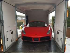 BSM Car Transport London Gallery - Ferrari